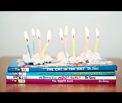 62/366 Happy Birthday Dr. Seuss (Kris Oneal Photography) Tags: birthday street colors cake kids reading colorful candles candle child books candlelight drseuss mulberry catinthehat literacy childrensbooks theodorgeisel nikond90 andtothinkthatisawitonmulberrystreet thetoothbook mrbrowncanmoocanyou whipscream krisonealphotography