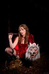 Lillian_S01_FreakyRed_DSC01558 (Phillostar Gone Ballistic Photography) Tags: red sexy model shoot forrest sony freaky riding pj hood alpha lillian romeyn a580 phillostar