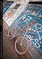 Silver the Bicycle's first Time on the Streets (rpeschetz) Tags: vienna wien bicycle track singlespeed custom blb hdri bahnrad coasterbrake guessedvienna hdrsingleraw chromfahrrad