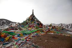 RURAL CHINA: The Next Ten Years (D J Clark) Tags: china buddhism amdo guide prayerflags    qinghai  chn   tibetanculture  moutainpass hainantibetanautonomousprefecture               duowa tibetantaggingproject