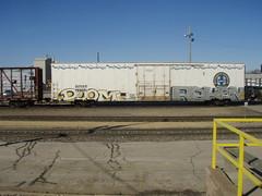 doom   reken (feck_aRt_post) Tags: graffiti doom freight benching reken rollby bnsf793691
