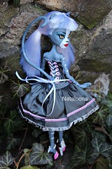 Monster High Meowlody (Nataloons) Tags: fashion monster toys us high twins doll dress handmade r etsy exclusive mattel explored werecat scintillatingdollies monsterhigh meowlody