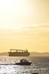 Ponta do Humait - Salvador, Brasil (carolborges) Tags: beach boat sundown salvador pontadohumait