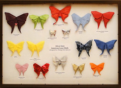 American luna moth (Hoang Tien Quyet) (Danielle Verbeeten) Tags: butterfly paper origami papier folding mot vlinder vouwen hoangtienquyet americanlunamoth