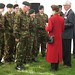 OWH HRH Meeting the cadets