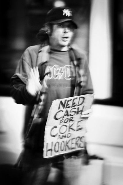 Cash for coke and hookers