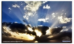 Cloud (Mashkour) Tags: light cloud sun canon eos rebel iraq baghdad t2i mygearandme eos550d