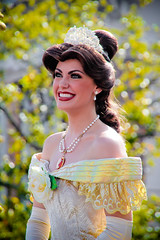 Belle (abelle2) Tags: princess disney parade disneyworld belle wdw waltdisneyworld magickingdom beautyandthebeast disneyprincess disneyparade princessbelle disneyprince celebrateadreamcometrueparade celebrateadreamcometrue