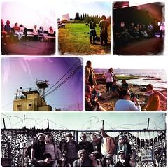 Dt.-israelische Jugendbegegnung Part VI: Besuch des Kindermuseum im Getthofighter-Museum, Sonnengruß (Yoga) zur Mittagszeit & Nachmittags Besichtigung der Grenze zum Libanon & Photoshootings am Meer.