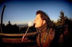 Eis am Stiel! (Batram) Tags: portrait mountain ice face berg thringen am hill cream thuringia gotha eis grosser inselsberg stiel
