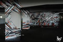 Mausolee (s.butterfly) Tags: paris abandoned graffiti supermarket abandonne lek urbex supermarche mausolee sowat