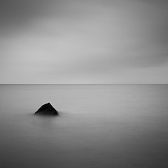 Staffin (Boyd Hunt) Tags: longexposure sea bw skye rock mono scotland staffin