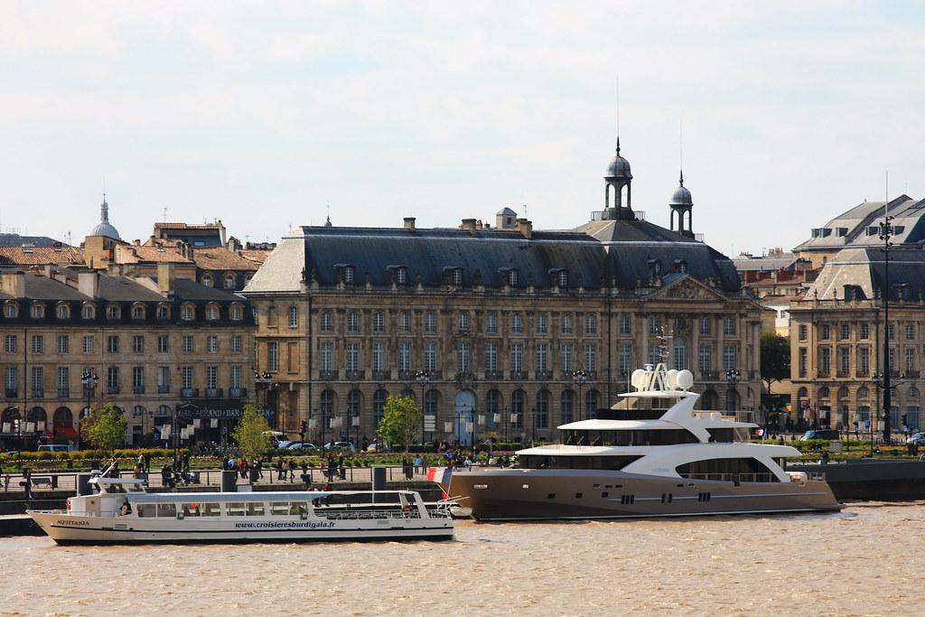 """Activité sur dans le port - """"La Pellegrina"""" - Bordeaux - 15 avril 2012"""