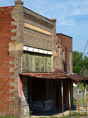Robertson & Company (VFR Photography) Tags: roof brick texture abandoned stone tin store peeling paint tn adams tennessee empty painted bricks business southern weathered thesouth stores derelict decaying textured roofing cornice weatherbeaten swayback robertsoncounty robertsonco swayedback robertsoncompany