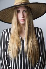 Ashley (austinspace) Tags: portrait woman hat washington model spokane photoshoot blond blonde