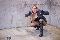 Krystle Starr - Black Canary (Mineralblu) Tags: city black space canary krystle con starr