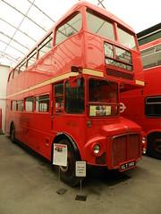 VLT140 RM140 AEC Routemaster (graham19492000) Tags: museum routemaster brooklands transportmuseum aec brooklandsmuseum aecroutemaster busmuseum londonbusmuseum londonbuspreservationtrust vlt140 rm140
