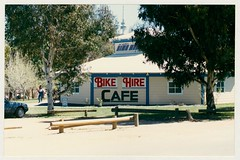 Bike Hire Centre, Acton Jetty. c1989 (ArchivesACT) Tags: canberra acton bikepaths cyclepaths archivesact actonjetty