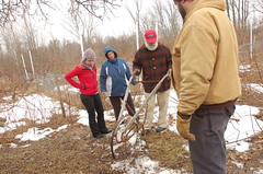 "John Demonstrating Wheel Hoe <a style=""margin-left:10px; font-size:0.8em;"" href=""http://www.flickr.com/photos/91915217@N00/13528286025/"" target=""_blank"">@flickr</a>"