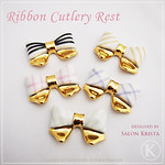 "Ribbon Cutlery Rests <a style=""margin-left:10px; font-size:0.8em;"" href=""http://www.flickr.com/photos/94066595@N05/13690665213/"" target=""_blank"">@flickr</a>"