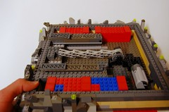 WIP Cave Space layout (LegoMathijs) Tags: layout power lego space wip technic cave functions slope moc foitsop legomathijs