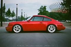 Porsche 911 (964) (Pawe Skrzypczyski) Tags: analog 35mm 50mm superia olympus zuiko fujicolor om2sp