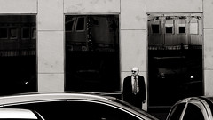 (Leonid Yaitskiy) Tags: vienna wien street people man up out outside austria photo europe dress side business suit across