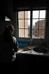 Escena tras la ventana (scene behind the window) (Julin del Nogal) Tags: window ventana scene escena