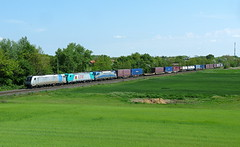 Railpool & LTE & AdriaTransport (Hoba91) Tags: hungary transport siemens eisenbahn zug taurus bahn adria 185 bombardier traxx komrom gterzug 1216 vonat tehervonat lte railpool lte1856087