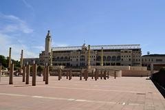 ESTADI OLMPIC LLUS COMPANYS (Yeagov C) Tags: barcelona catalunya montjuc 1929 2016 estadi estadiolmpic lluscompanys estadiolmpiclluscompanys peredomnechiroura estadidemontjuc