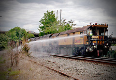Loram rail grinder (Charlie O'Hay) Tags: railroad train mow heavyequipment norfolksouthern railfanning loram railgrinder maintenanceofway lmix3405