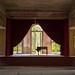 Lungenheilstätte Grabowsee: Klavier auf der Bühne