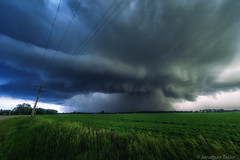 Kansas Tornado 2 (Jonathan Tasler) Tags: field clouds farm country kansas thunderstorm tornado chapman