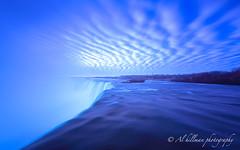 Hoseshoe-Clouds-3-1-F (Al Hillman) Tags: longexposure pink blue sky water clouds niagarafalls niagara horseshoe horseshoefalls