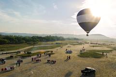 Villa Corona (Kra Godinez) Tags: sky sun festival mexico flying nikon shine amanecer corona villa globo d7000 nikond7000 kragodinez