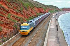 Great Western Railway 253001/43002 - Dawlish (South West Transport News) Tags: blue br great railway western hst dawlish 25300143002