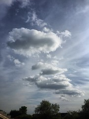 Against Cirrus cloud (andystones64) Tags: uk sky nature weather skyline clouds image lincolnshire cloudscape scunthorpe cirrus iphone imagecapture imageof nlincs iphoneography iphone6
