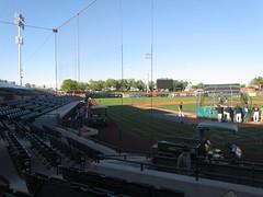 Home to Left at Scottsdale Stadium -- Scottsdale, AZ, March 08, 2016 (baseballoogie) Tags: arizona baseball stadium az giants scottsdale ballpark springtraining sanfranciscogiants cactusleague baseballpark scottsdalestadium 030816 canonpowershotsx30is baseball16