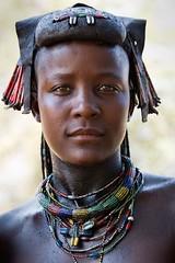 Angola. Woman from the Muhacaona (Mucawana) tribe (mike catalonian) Tags: africa portrait face female angola southernregion photographycolor mucawana