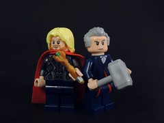 Worthy Tools (MrKjito) Tags: hammer lego who sonic tools doctor minifig thor marvel weapons screwdriver worthy crossover thors