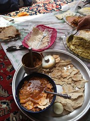 Dizi - Traditional Iranian Lamb Chickpea Soup (=Mirjam=) Tags: holiday lunch yummy travels iran culture meal traveling mei tradition abyaneh iphone dizi 2016 maltbeer iphone6s