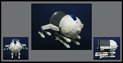 The Grenn Arde (Karf Oohlu) Tags: lego moc assaultship microscale nuclearmissiles microspacetopia assaultfighter atompunk