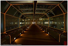 Internal sky bridge in NS building, Tokyo (Damien Douxchamps) Tags: bridge urban building japan tokyo shinjuku ns interior spiderman   japon kanto    ns
