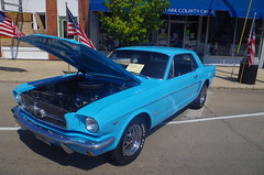 Mustang At The Bradford Car Show (ilgunmkr - Thanks for 4,000,000+ Views) Tags: ford mustang carshow notchback 2015 bradfordillinois