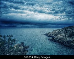 Photo accepted by Stockimo (vanya.bovajo) Tags: sea cliff cloud seascape storm nature rain weather clouds landscape rocks mediterranean cloudy rocky stormy nobody cliffs raining seashore iphone iphonegraphy stockimo