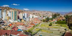 Vista al Parque Urbano (Andrs Photos 2) Tags: streets bolivia ciudad lapaz calles altiplano sudamerica elalto lasbrujas