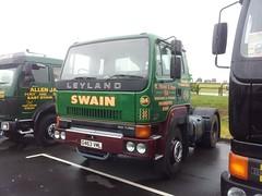 G463 VML (quicksilver coaches) Tags: leyland roadtrain gaydon swain g463vml