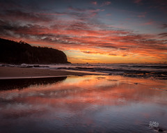 Reiteration (Mike Hankey.) Tags: seascape colour sunrise focus published lowtide turimetta