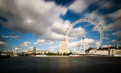 Where are you looking to ? The London Eye, London, United Kingdom (monsieur I) Tags: longexposure greatbritain summer london water clouds speed river circle europe unitedkingdom circles thecity londoneye wideangle thethames monsieuri