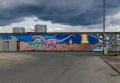 Wall (AstridWestvang) Tags: streetart industry architecture denmark kbenhavn